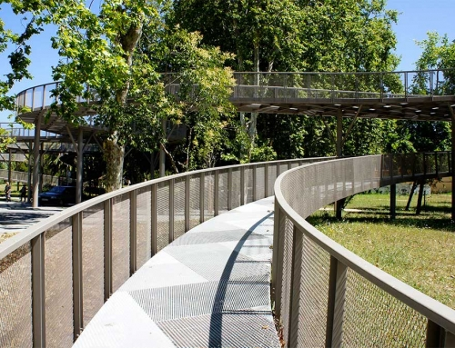 Ponte Pedonal de Ligação Baixa de Santo António ao Parque  Infante D. Pedro